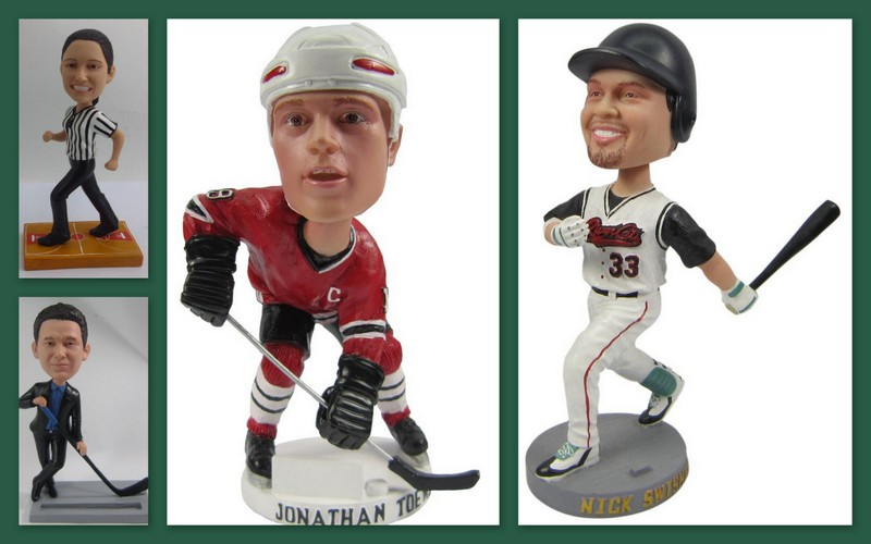 Sports Bobbleheads, the perfect gifts to put a smile on the faces of sports fans