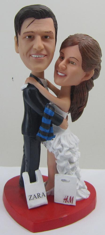 Custom Wedding Bobbleheads, the Perfect Artwork for Your Special Day!
