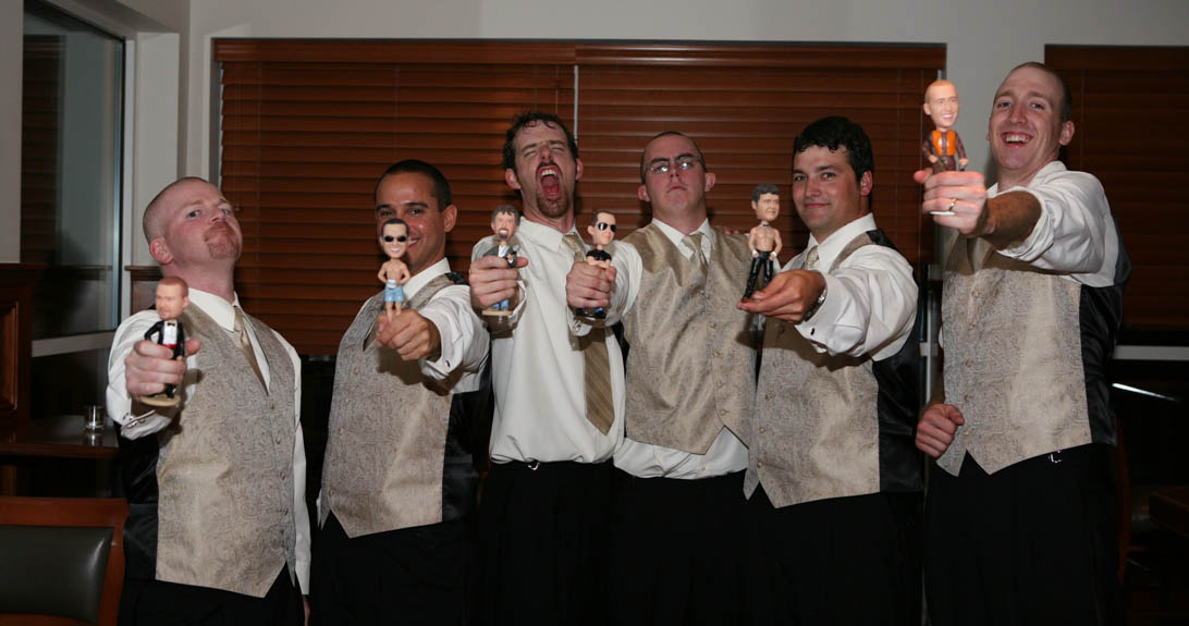Enterprise award for employees customized bobbleheads doll
