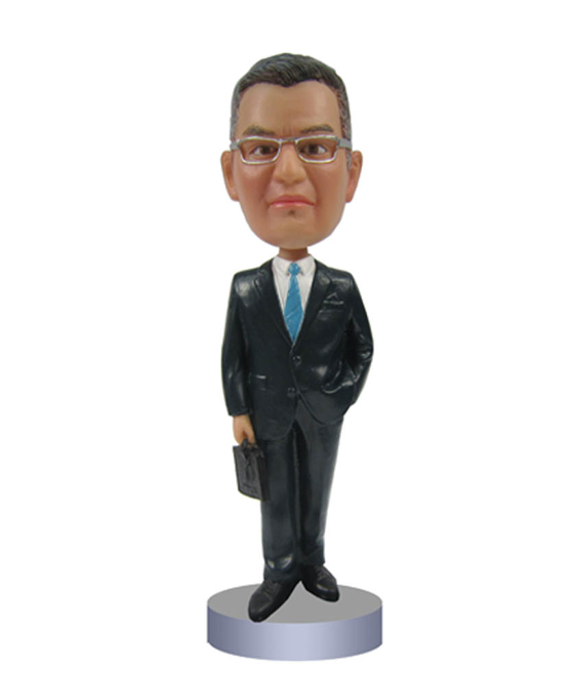 Businessman Office Bobble Head 2177