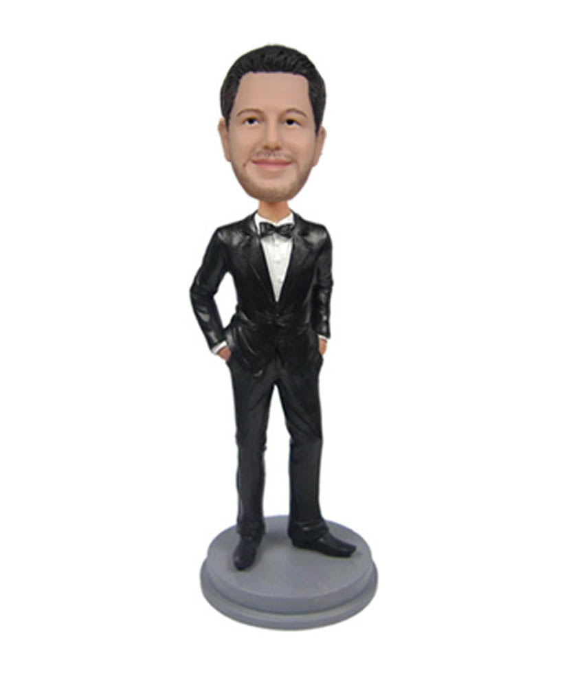 Groomsman bobblehead Best Man bobble head Groomsmen 2199