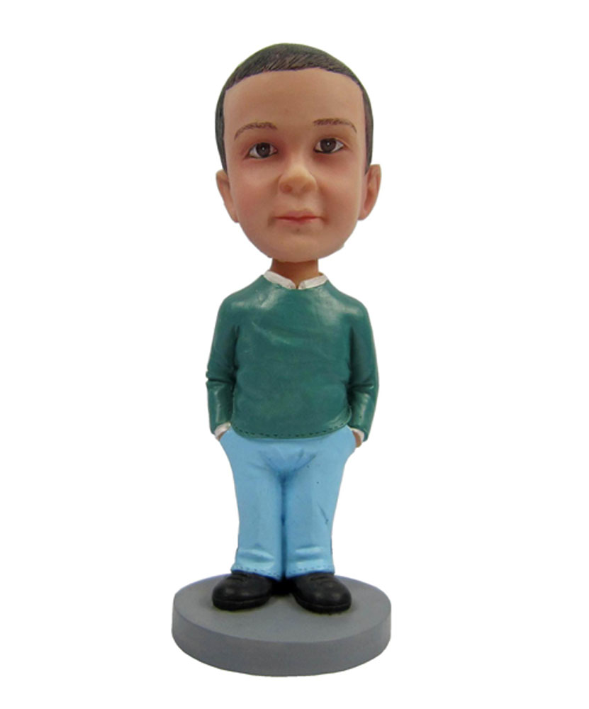 Little boy bobblehead 223