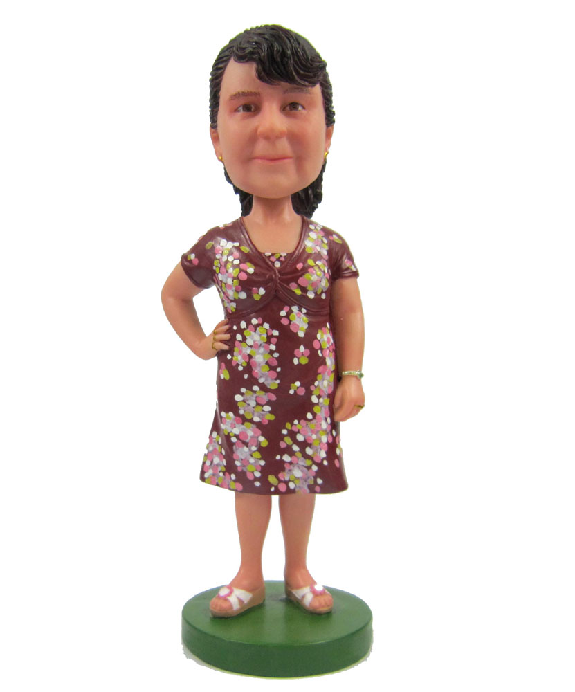 Create Bobble Head with Casual Body G004-1
