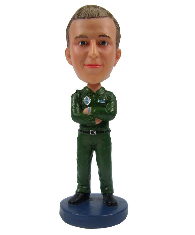 Order custom bobblehead of army figures B233-1