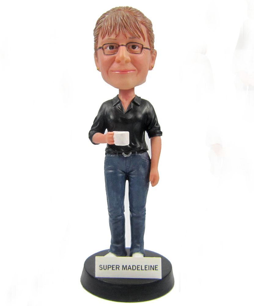 Customizable Bobbleheads of Office Lady G005-1