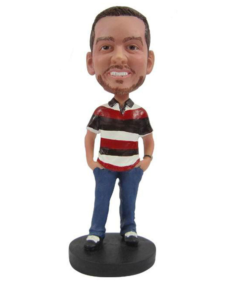 Make casual bobble head B238
