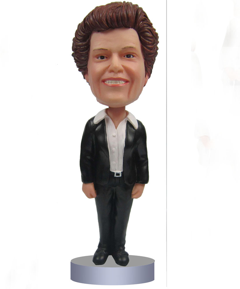 The Office Bobbleheads with Black Uniform G011