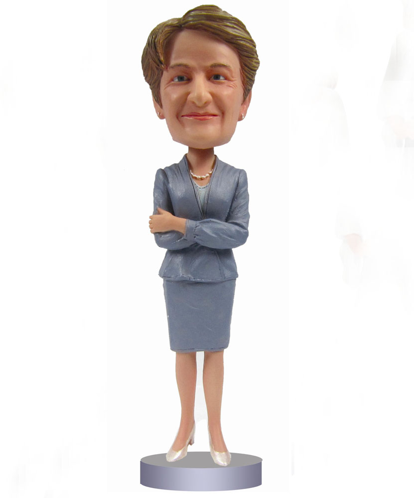 Intelligence Bobblehead of Office Lady G-012