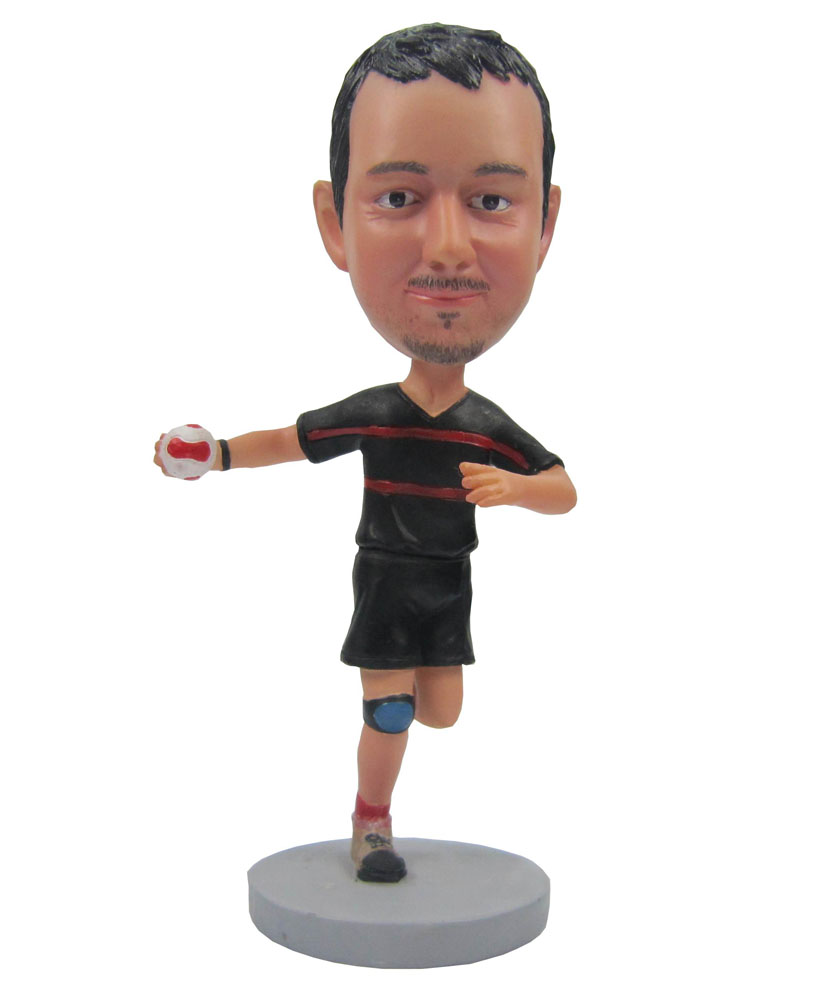 Man One Feet Up & Arm Out bobblehead dolls B269