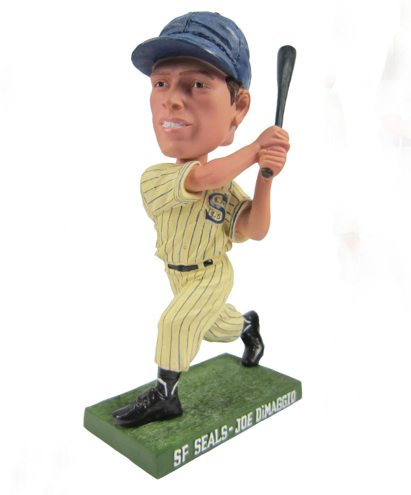 baseball bobbleheads with left handed posture G016