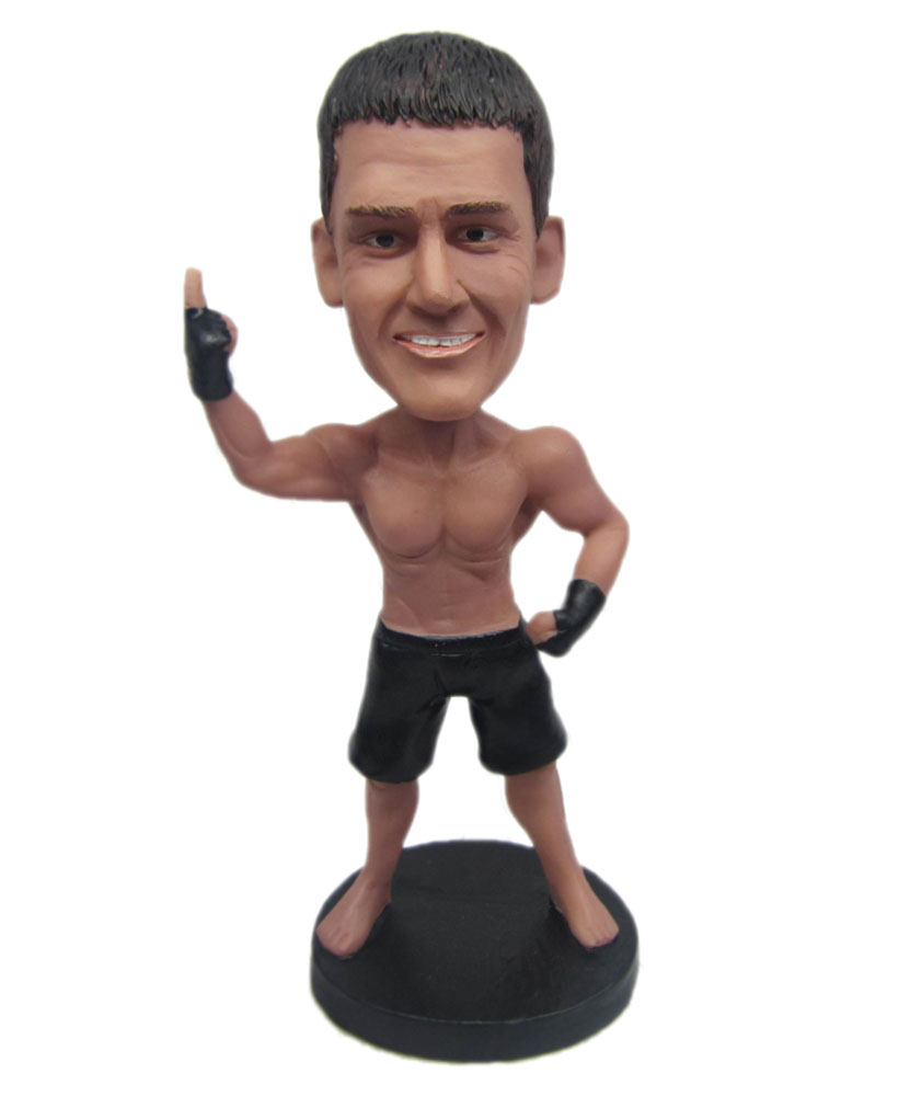 Strong Male with Short Bottom bobblehead dolls B274