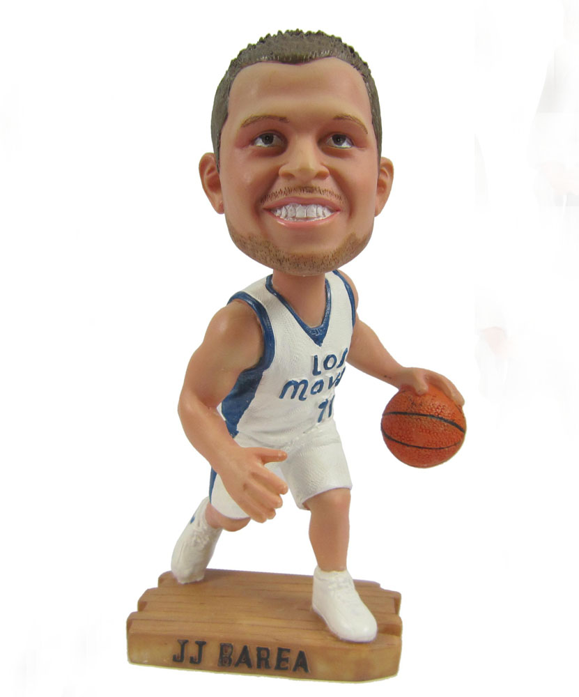 make a bobblehead about basketball player DFU-G017