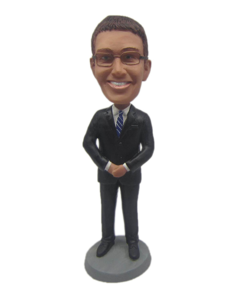 Custom made groomsmen bobbleheads B284