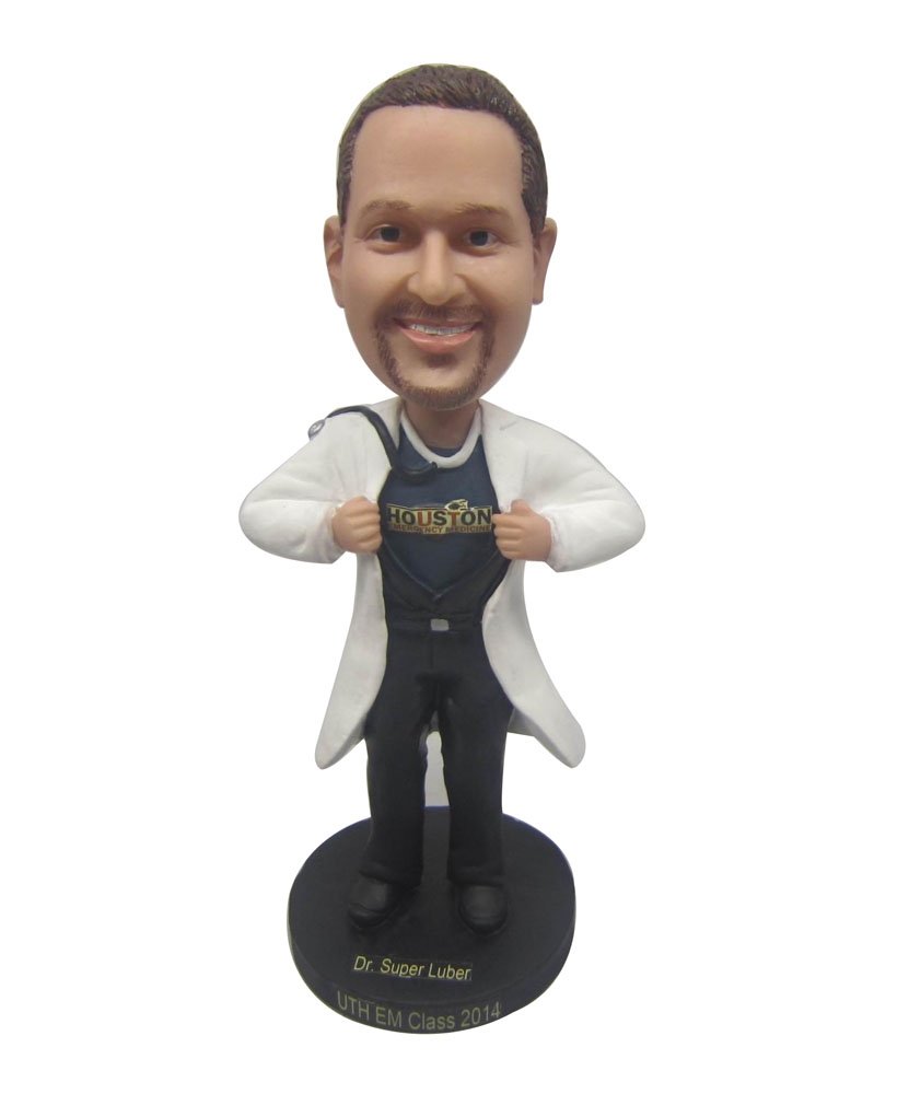Personalised bobbleheads medical doctor bobblehead B237