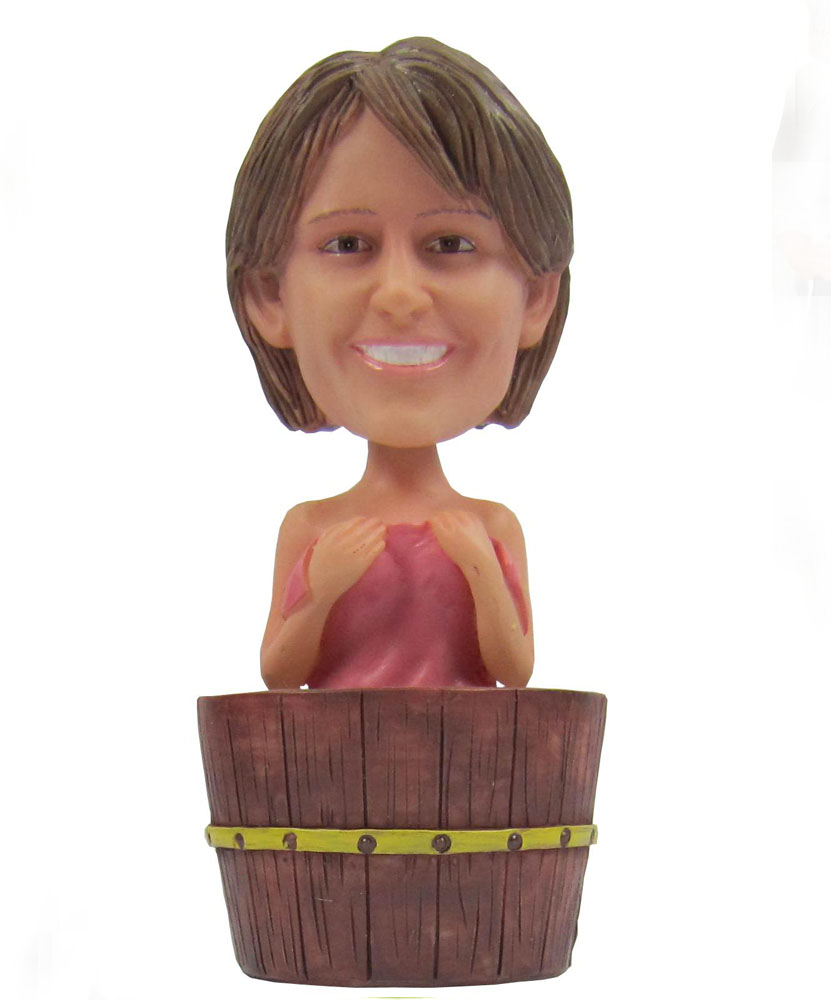 Marvel bobblehead of female bather G070