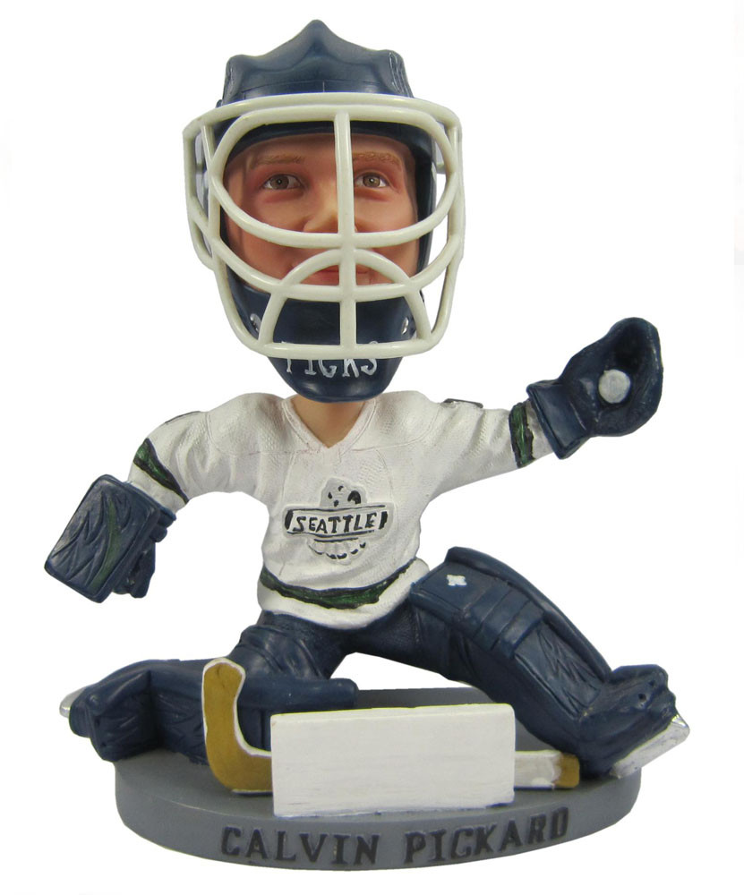 Make your own bobblehead custom ice hockey player bobbleheads