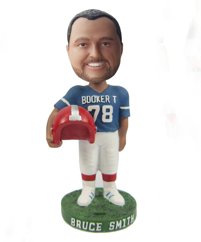 Sport bobbleheads hold the hat S409