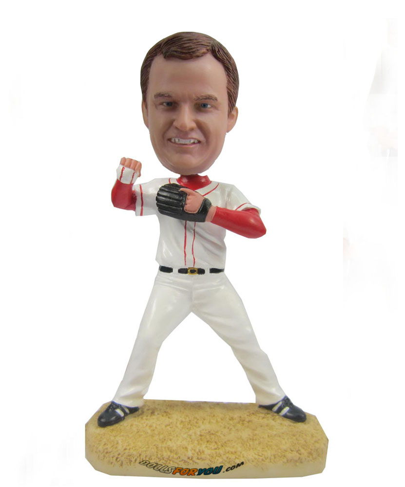 Baseball Catcher bobblehead Doll S415