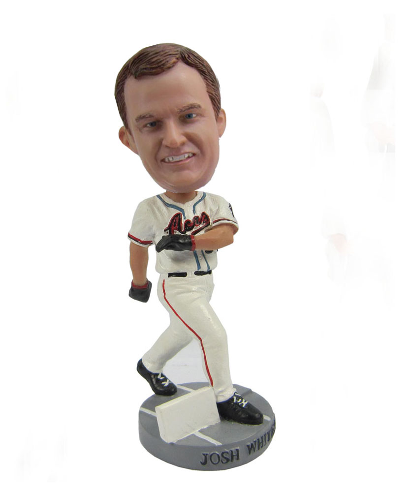 Pitching baseball player custom bobbleheads S420