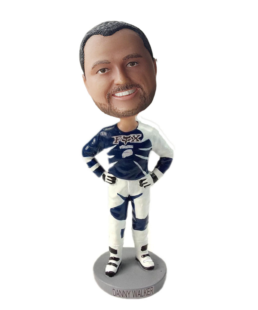 male funny bobbleheads with sports shirt G205