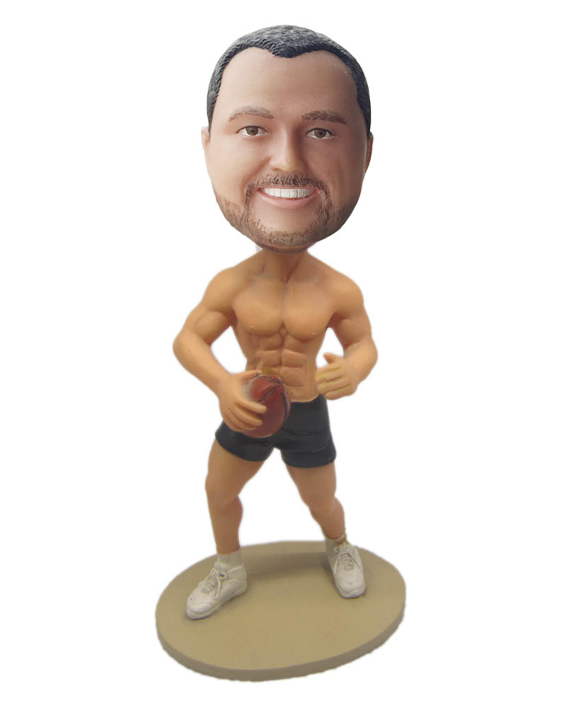 male bobblehead customized stripping to the waist G207