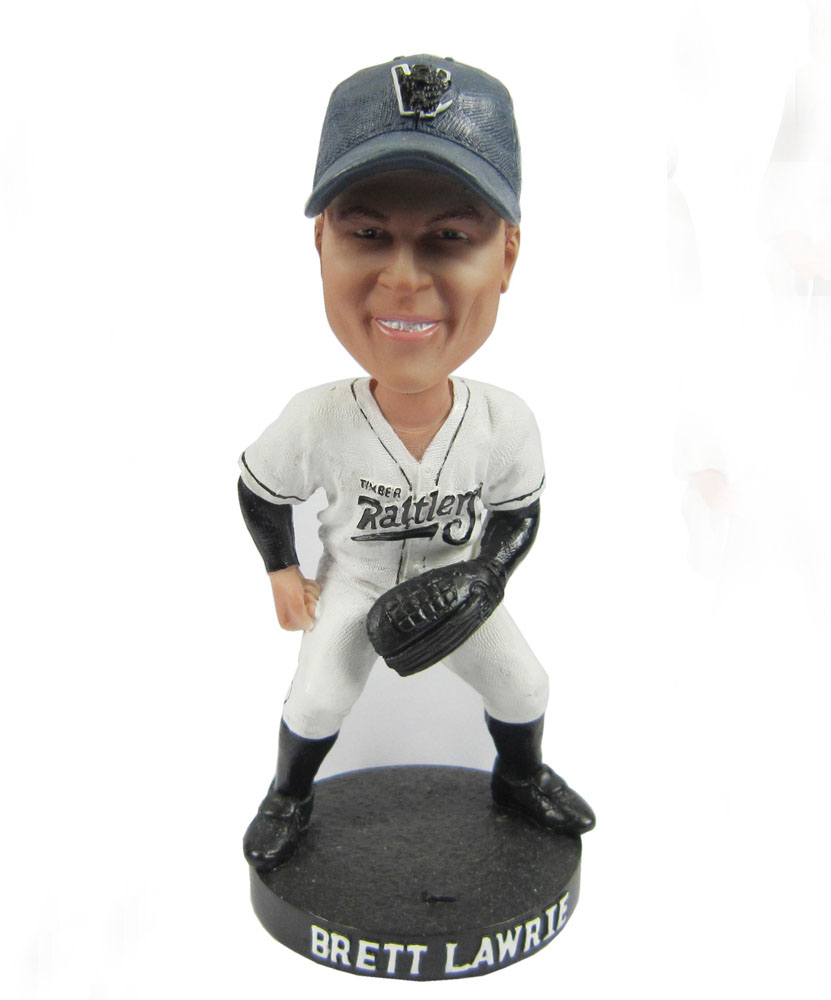Righty pitcher baseball custom bobblehead S430