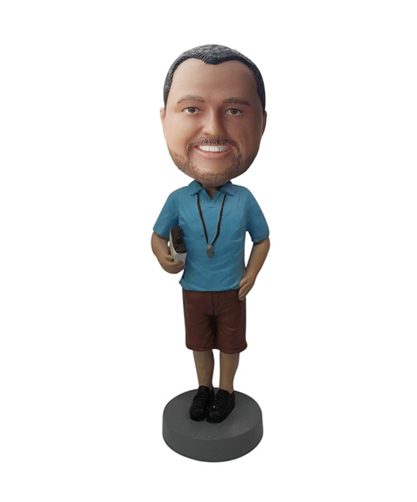 Coach with Rules Bobbleheads Custom B495