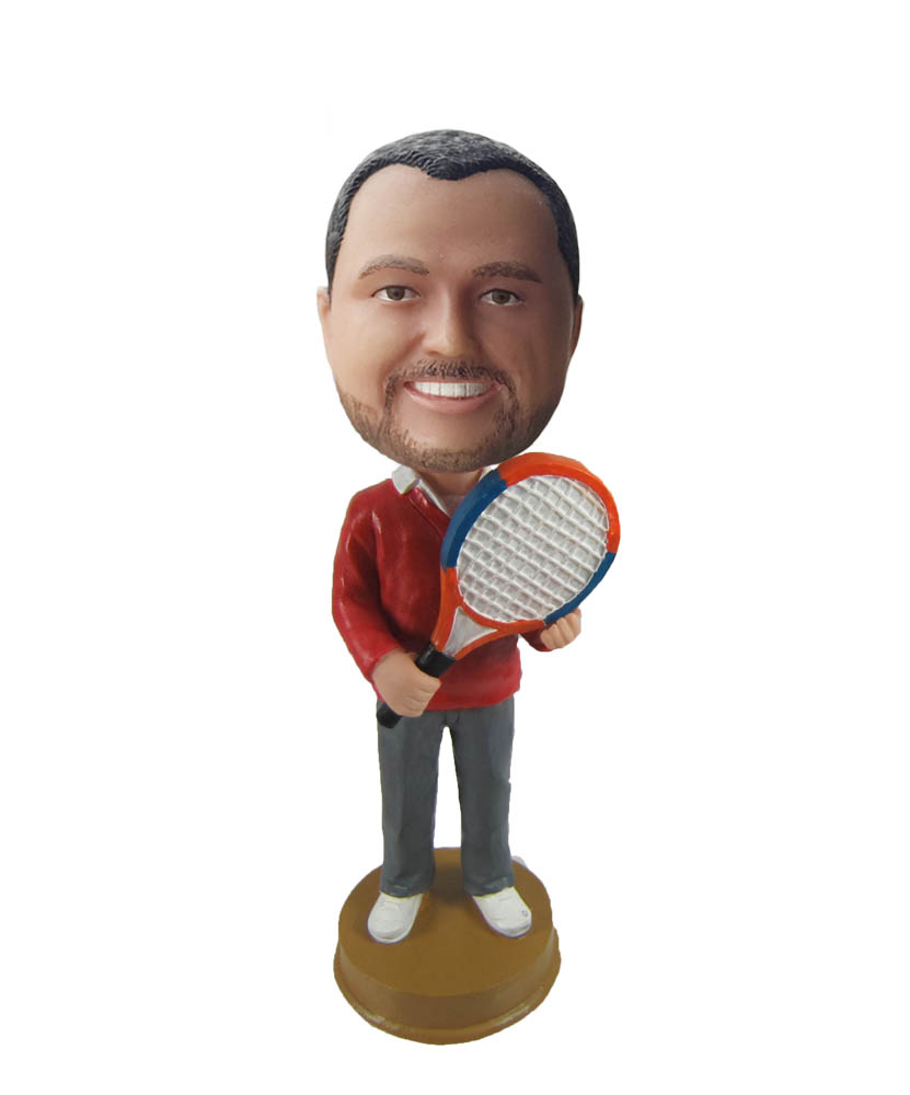 Make tennis bobble head S1069
