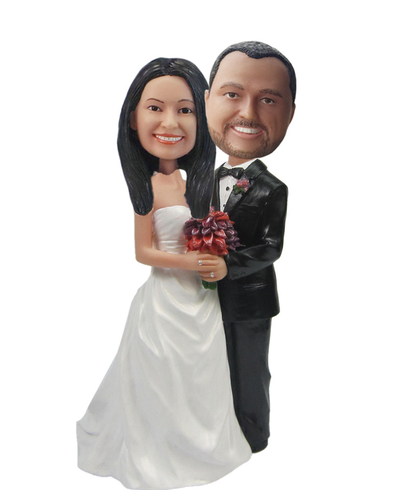 Custom Wedding Bobblehead W026