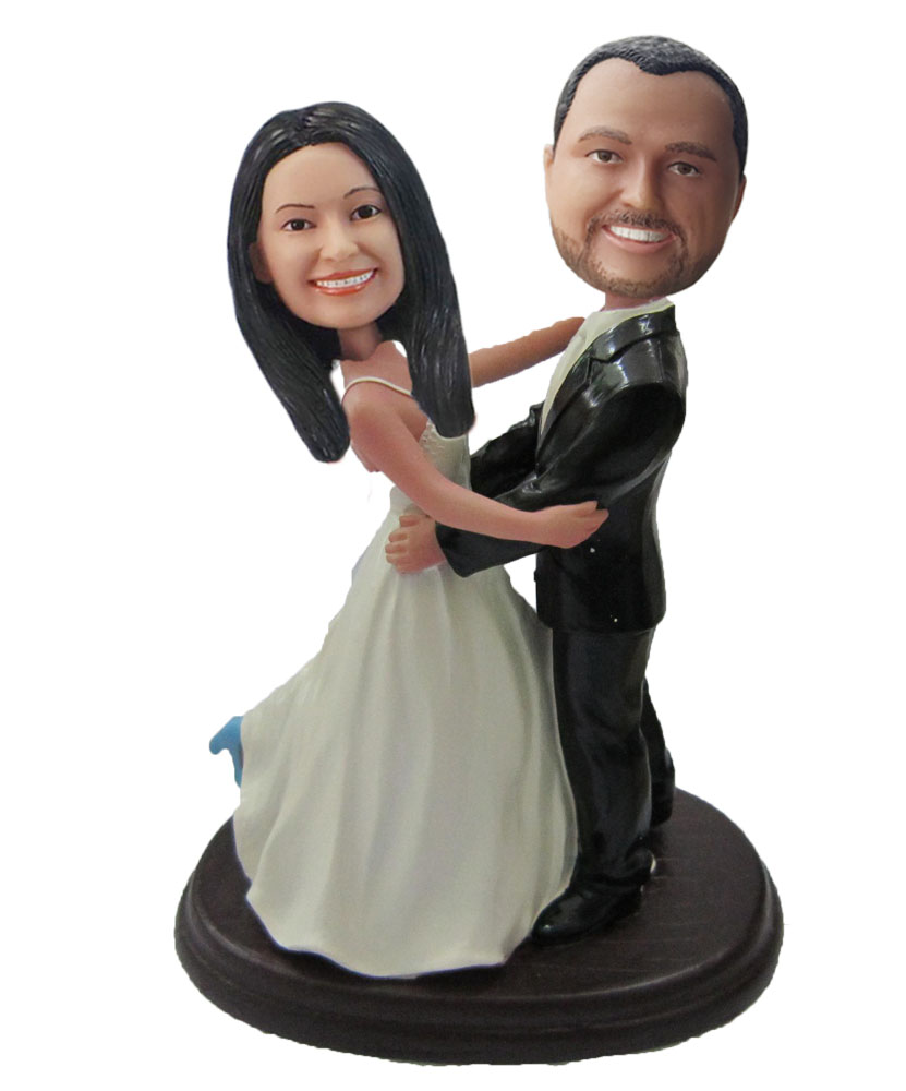 Custom Wedding Bobblehead W027