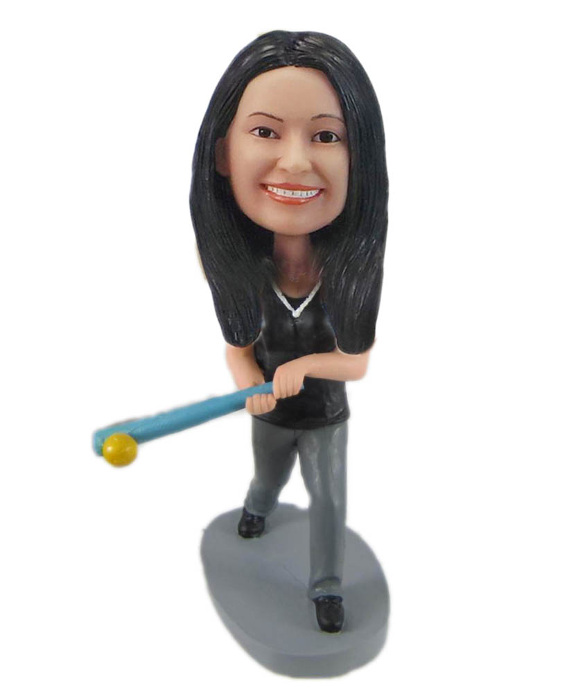 Make baseball bobble head S1032