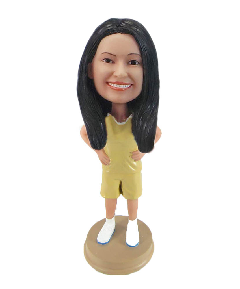Make do exercise bobble head S986