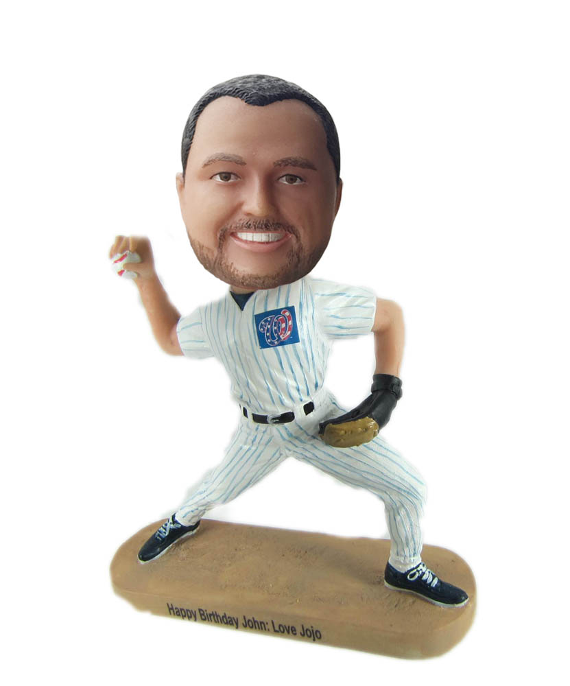 Make paly baseball bobble head S975