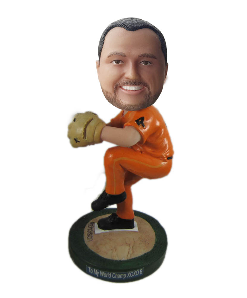 Make baseball bobble head S898