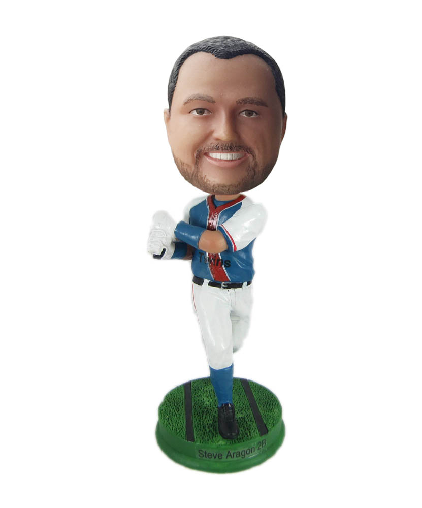 Make baseball bobble head S887