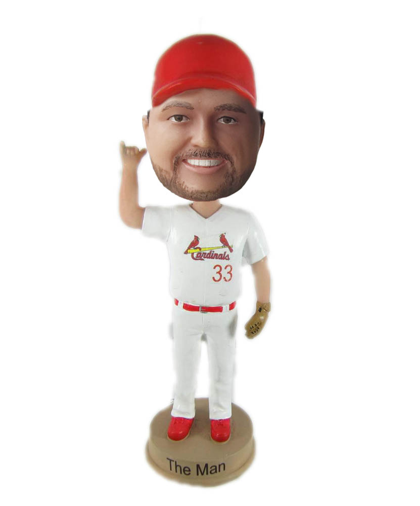Make baseball bobble head S885
