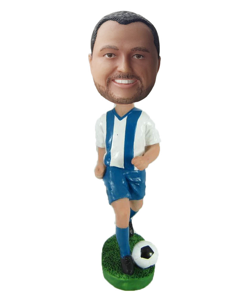 Make football bobble head S883
