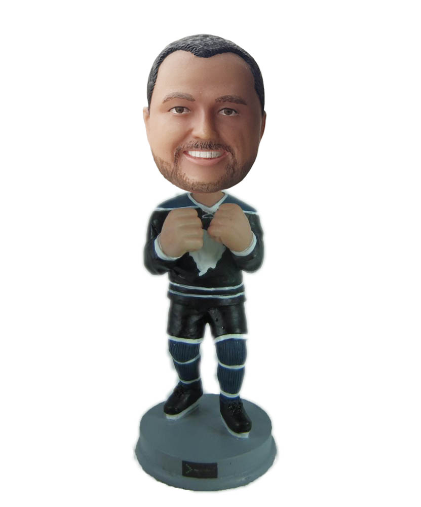 Make taekwondo bobble head S877