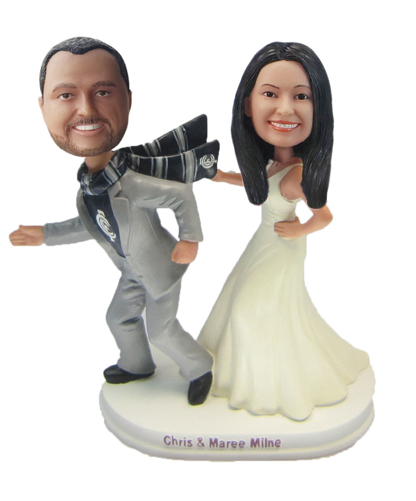 Custom Wedding with based on game Bobblehead W115