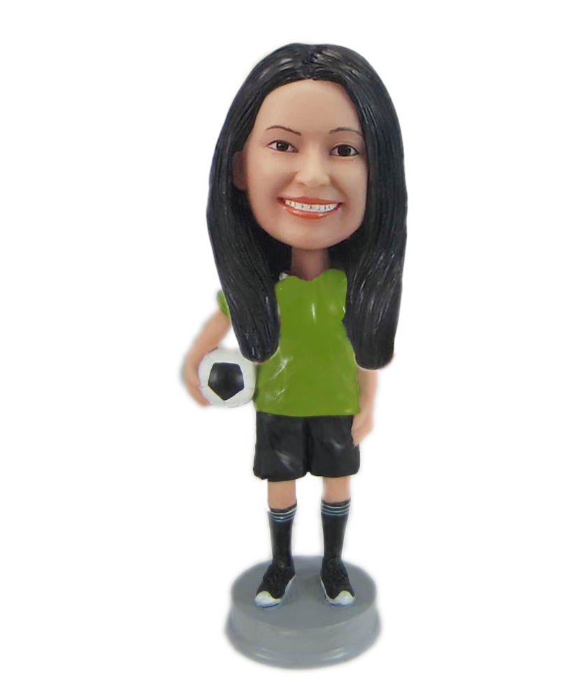 Make football bobble head S854