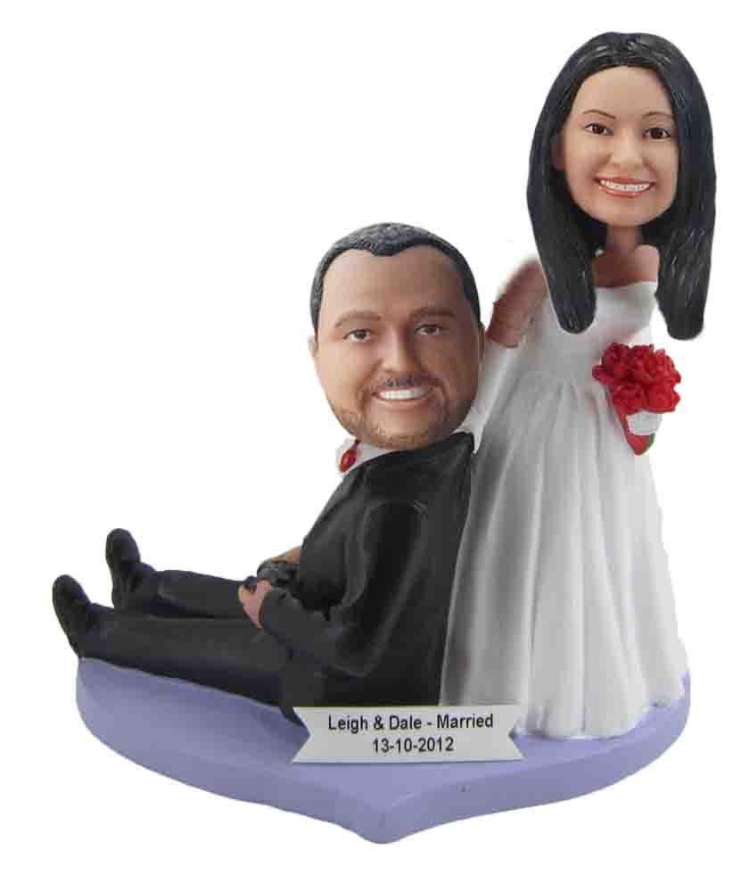Custom Wedding Bobblehead W137