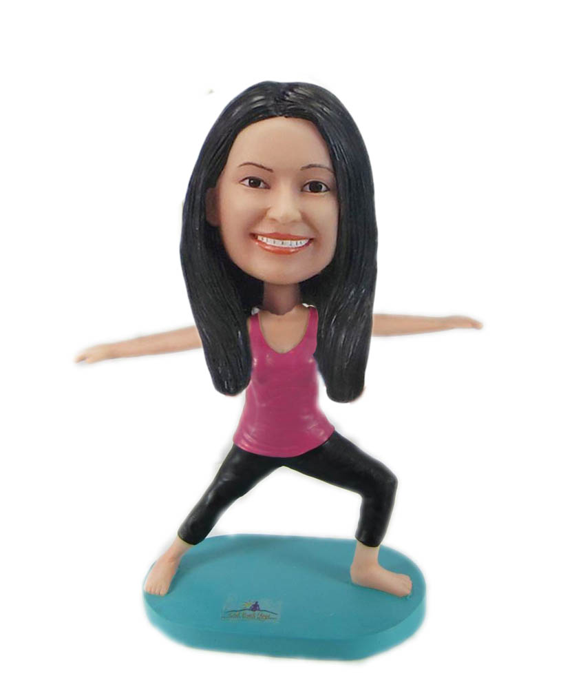 Make yoga bobble head S851