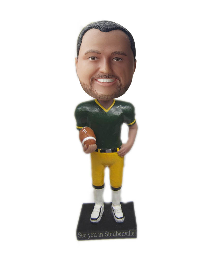 Make rugby bobble head S820