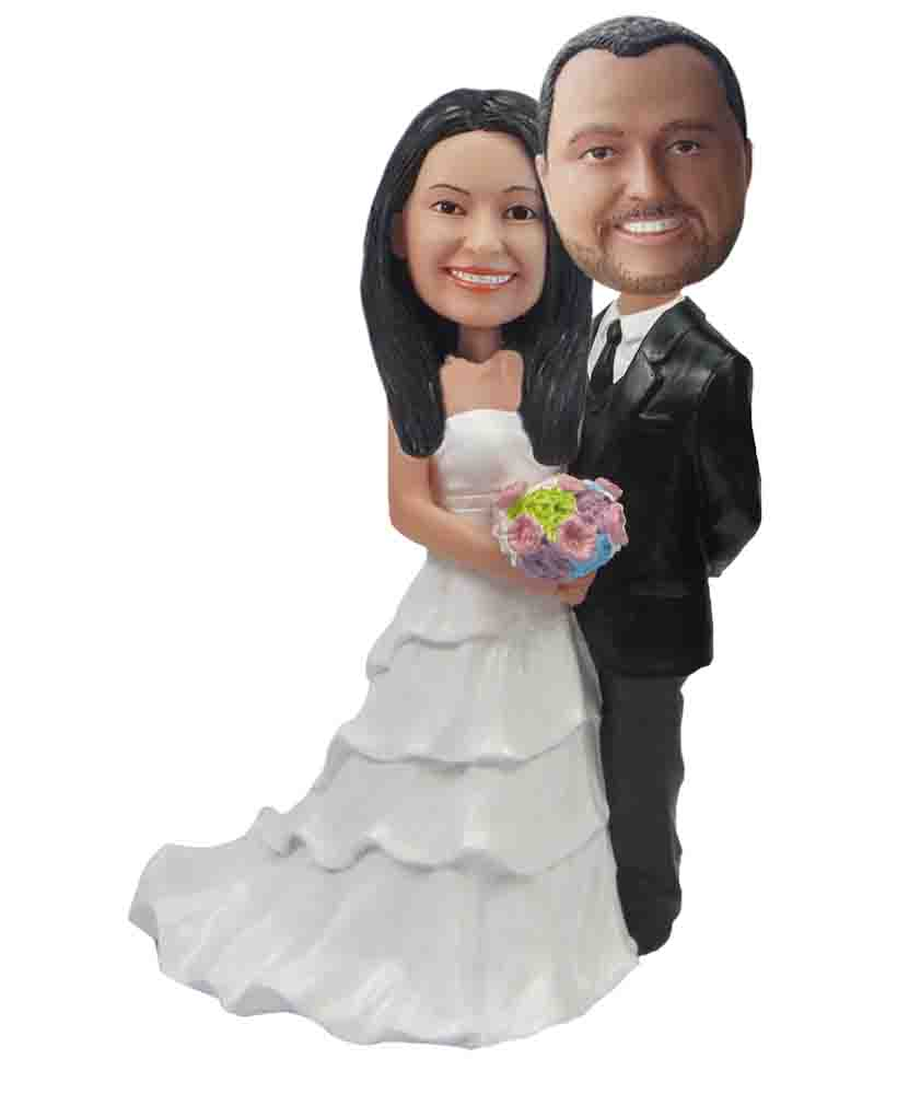 Custom Wedding Bobblehead W138