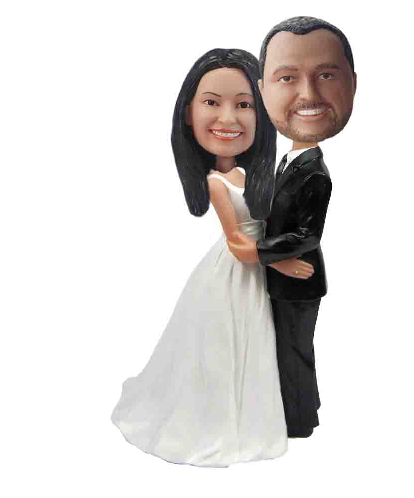 Custom Wedding Bobblehead W139