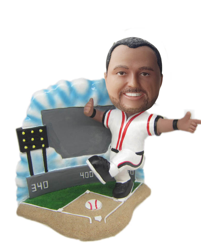 Make baseball bobble head S805