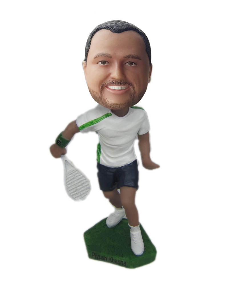 Make tennis bobble head S802