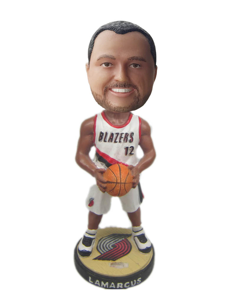 Make basketball  bobble head S797