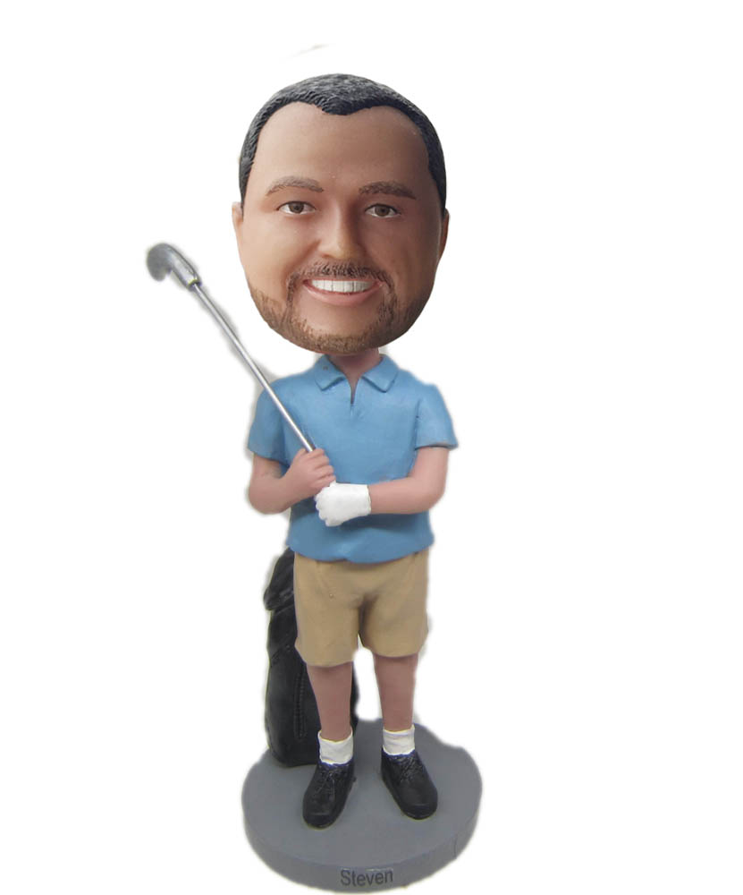 Make golf  bobble head S791