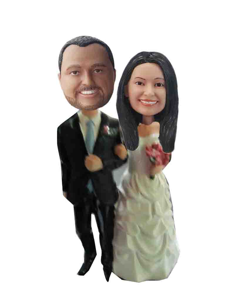 Custom Wedding Bobblehead W141